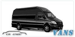 Luxury Van service in Indianapolis
