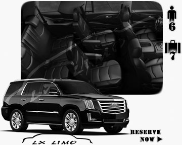 SUV Escalade for hire in Indianapolis, IN