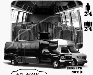 Mini bus for hire in Indianapolis, IN