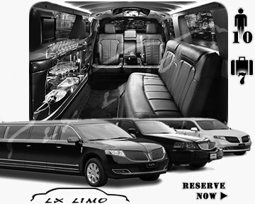 Town Car Stretch Limo for rental