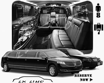 Stretch TownCar Limo for hire in Indianapolis, IN